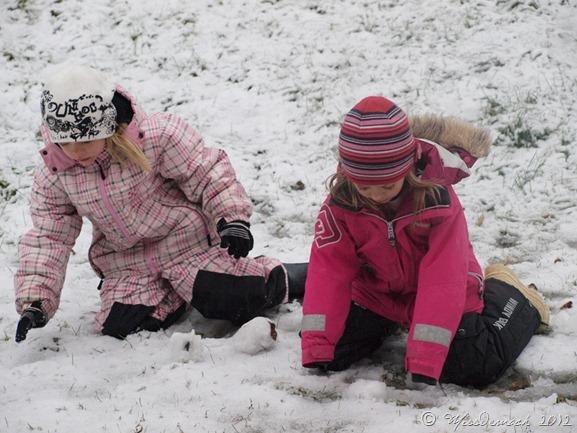 första snön JoN